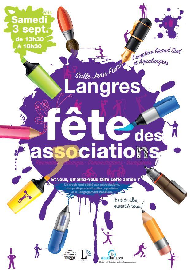 La Fête des Associations de Langres 2016