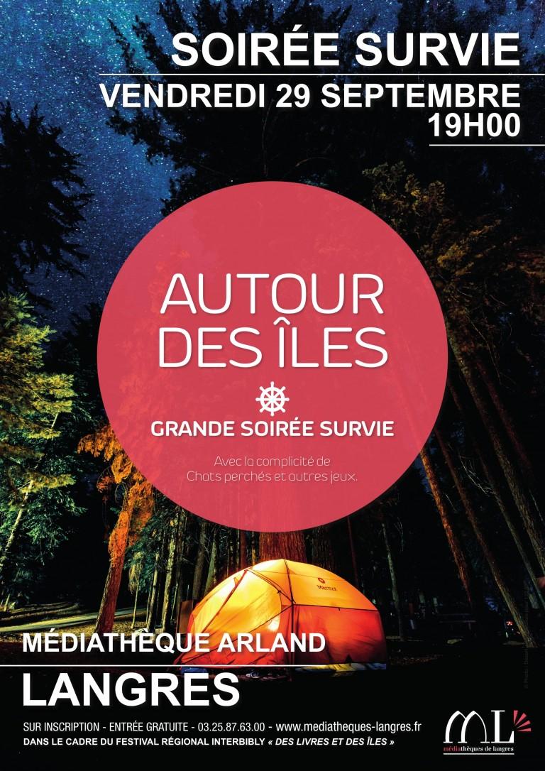 Interbibly 2017 – Grande soirée Survie